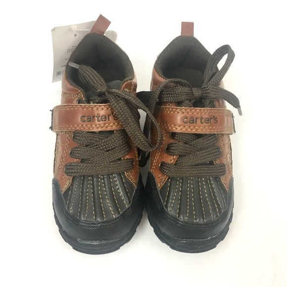 Carter/'s Toddler Boy/'s Benelli Brown Sneakers Shoes